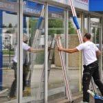 Glasreinigung Schaufenster gewerblich